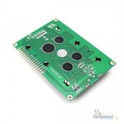 Display Lcd 16x4 1604 Fundo Azul Arduino